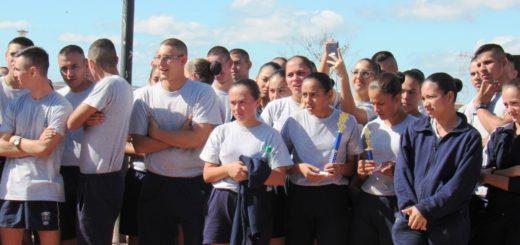 Se realizó la maratón por el 163 aniversario de la Policía de Misiones en el cuarto tramo de la Costanera