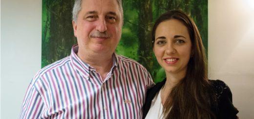 "Passalacqua se reunió con la candidata a Intendente de Posadas por el sublema ""Empoderadas"", Luciana Itatí Scromeda"