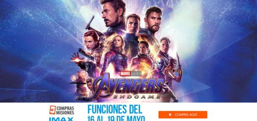 Avengers: Endgame mañana vuelve al IMAX del Conocimiento...¿No la viste?...Ingresá aquí y adquirí ya las entradas por Internet