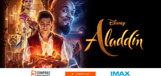 El IMAX frotó la lámpara y trae a Aladdin desde el jueves…Ingresá aquí y adquirí las entradas por Internet