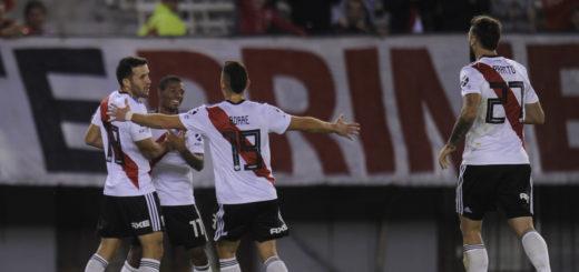 River goleó 6-0 a Aldosivi y avanzó a los cuartos de final en la Copa de la Superliga