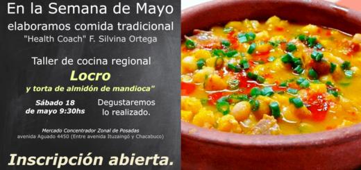 """Brindarán el taller de cocina regional """"Locro y torta de almidón de mandioca en el Mercado Concentrador de Posadas"""