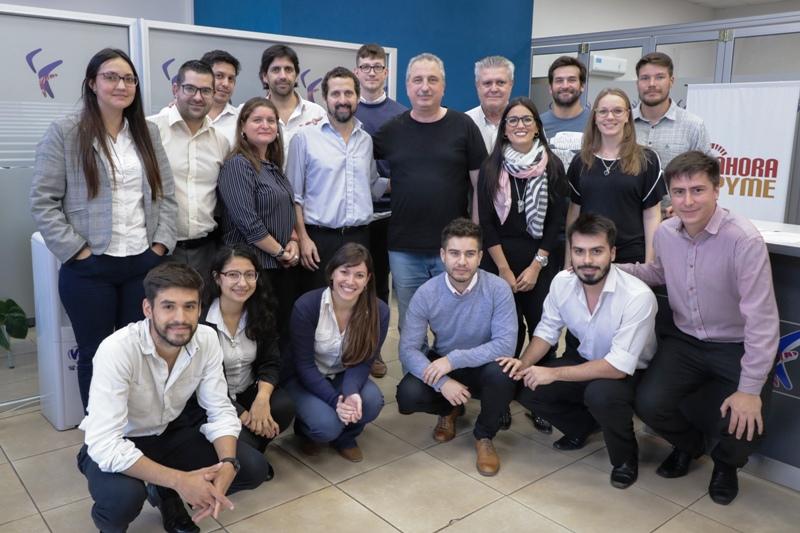 Passalacqua felicitó a los empleados del Fondo de Crédito Misiones en una informal reunión de trabajo
