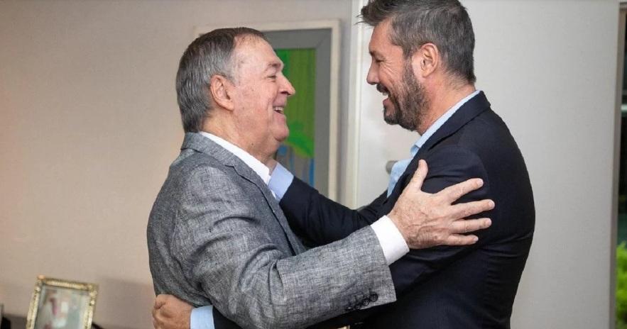 """Marcelo Tinelli dijo que es un """"gran honor"""" haber recibido el llamado de los dirigentes de Alternativa Federal"""