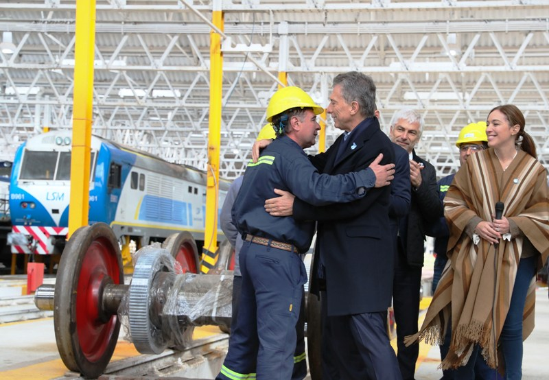 """Macri: """"El esfuerzo empieza a cambiar resignación por esperanza"""""""