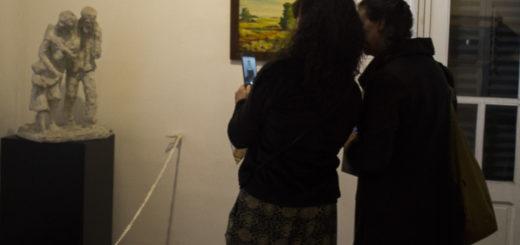 Se inauguró la muestra permanente de la Pinacoteca Provincial en el Museo Juan Yaparí