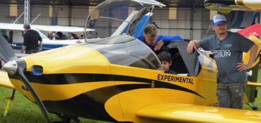 Vea las imágenes que dejó el festival aéreo por el aniversario del Aero Club de Posadas el fin de semana pasado