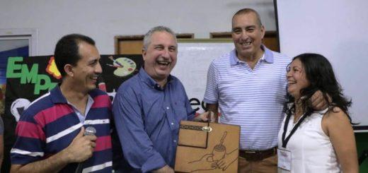 Passalacqua recorrió obras en Eldorado y visitó a emprendedores