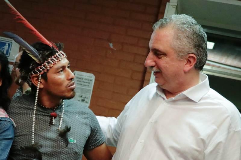 Passalacqua acompañó el lanzamiento de la escuela itinerante de turismo comunitario con orientación en turismo indígena