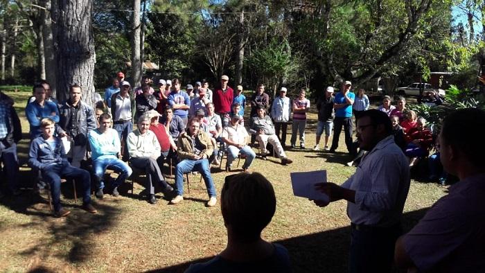 El Iprodha inició la regularización dominial en El Soberbio
