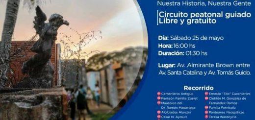 """Invitan a participar este sábado de un nuevo paseo peatonal guiado por el Cementerio """"La Piedad"""" de Posadas"""