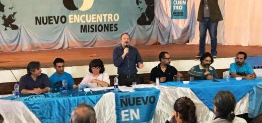 Martín Sabbatella celebró en Misiones la fórmula Alberto-Cristina, tras participar del Plenario de la Militancia de Nuevo Encuentro Misiones