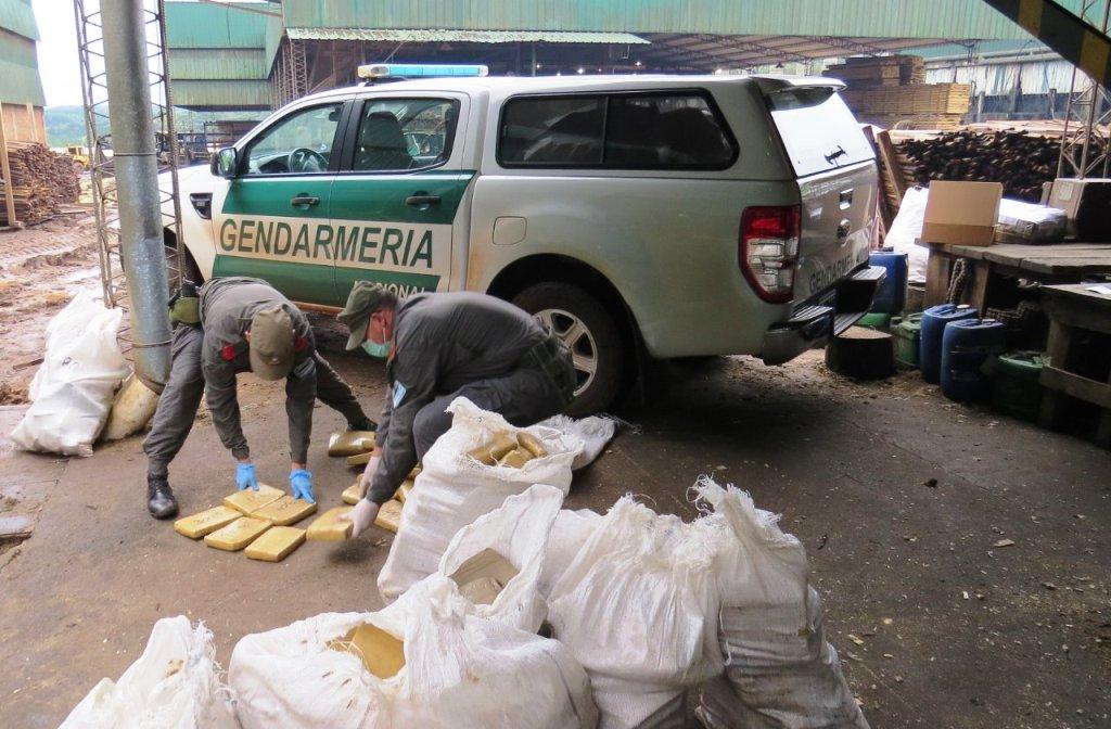 Quemaron más de 5 toneladas de marihuana en Santiago de Liniers