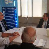 Desde la CEM calificaron como muy productiva la reunión con el vicegobernador Oscar Herrera Ahuad