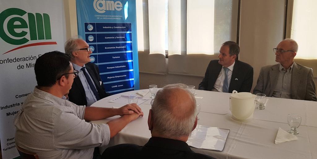Potencialidad de negocios e innovación, fueron los ejes de encuentro entre la CEM y el embajador de Israel