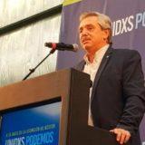 """La fórmula Fernández-Fernández tuvo su primer acto de campaña: """"Necesitamos un nuevo contrato social"""""""