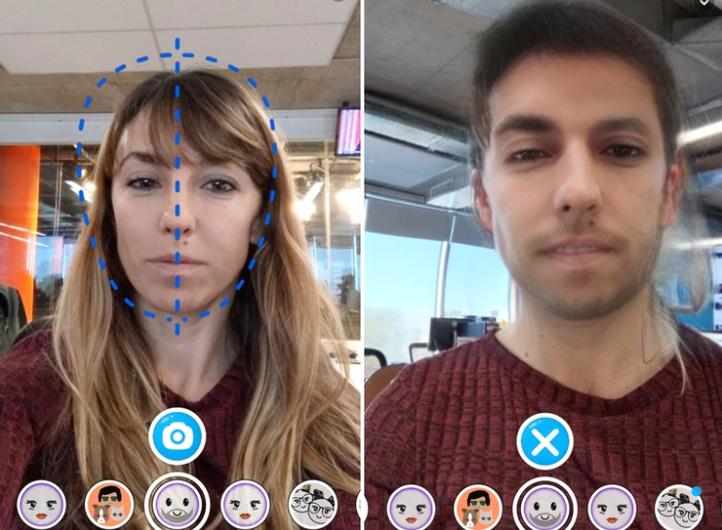 Cómo usar los nuevos filtros de bebé y cambio de género de Snapchat que son furor en las redes