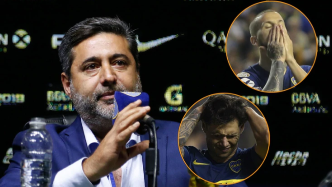 La tajante medida de Boca y el dardo de Daniel Angelici al plantel por las actitudes de Mauro Zárate y Darío Benedetto