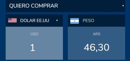 El dólar se vende a 46,30 en Posadas