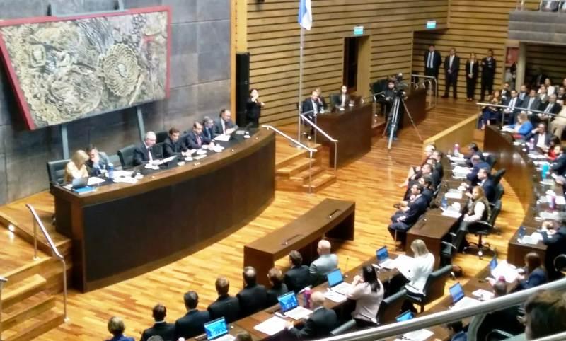 El Gobernador Hugo Passalacqua dirige a la provincia el último mensaje anual de su mandato