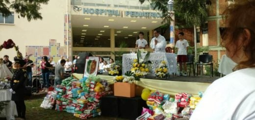 19° caminata solidaria deI Instituto Madre de la Misericordia: juntaron 16 mil unidades de pañales para el Hospital de Pediatría