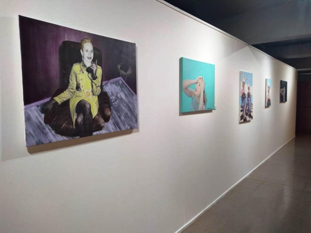 """El Teatro de Prosa del Centro del Conocimiento abrió la inédita muestra """"100 Años con Evita"""""""