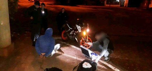 La Policía de Misiones detuvo a jóvenes que intentaron huir con marihuana oculta en una mochila en Eldorado
