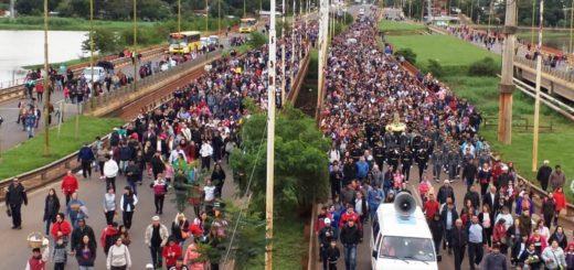 Hoy se realizará la tradicional procesión al Santuario de la Virgen de Fátima en Posadas