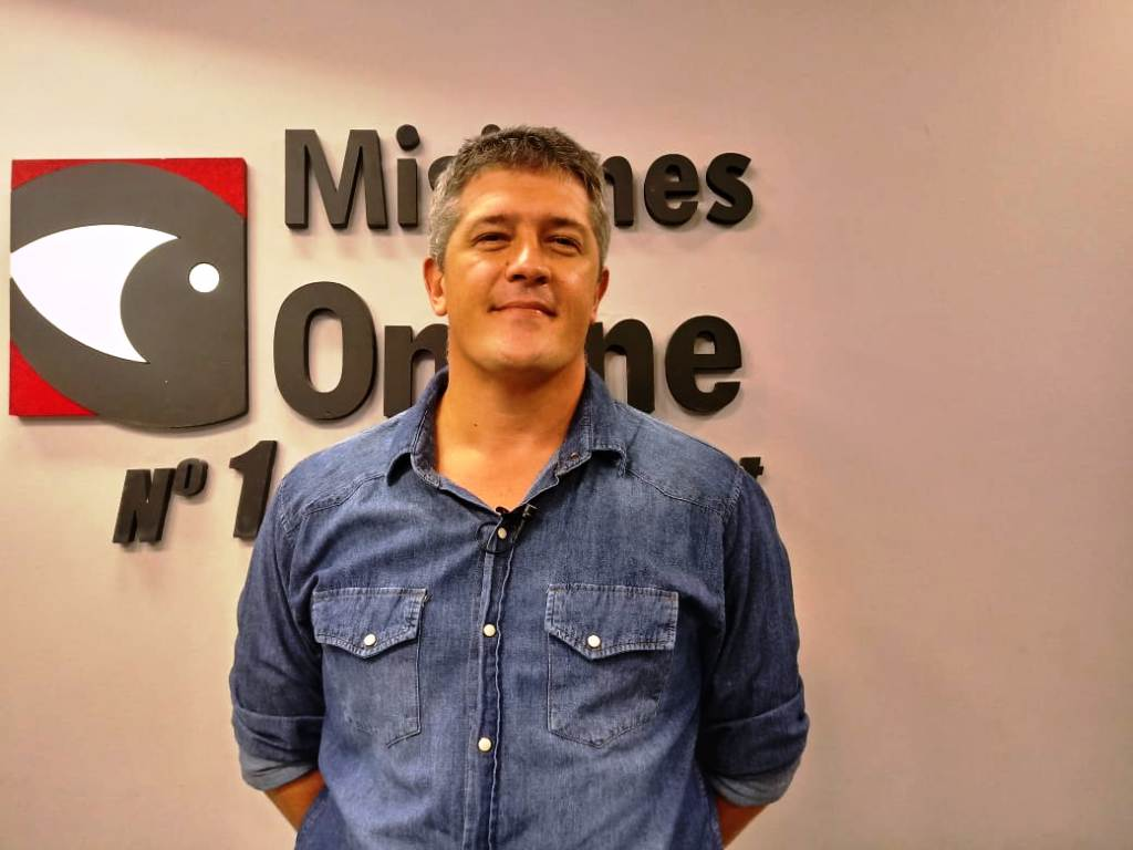 """Candidato a concejal Alejandro Martínez: """"La gente está confiada, vio las cosas que hizo Losada y que el municipio estuvo cerca en las dificultades"""""""
