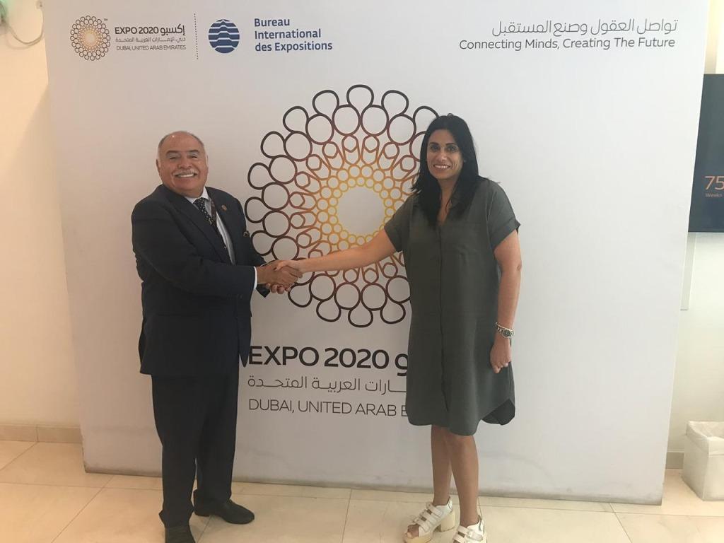 La robótica de Misiones se expone al mundo: ministros e importantes funcionarios de Dubai recibieron a la diputada Flavia Morales