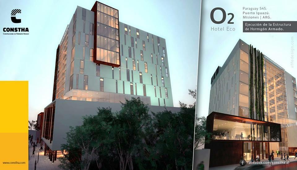 Mañana se inaugura un nuevo hotel 4 estrellas de 88 habitaciones en Puerto Iguazú