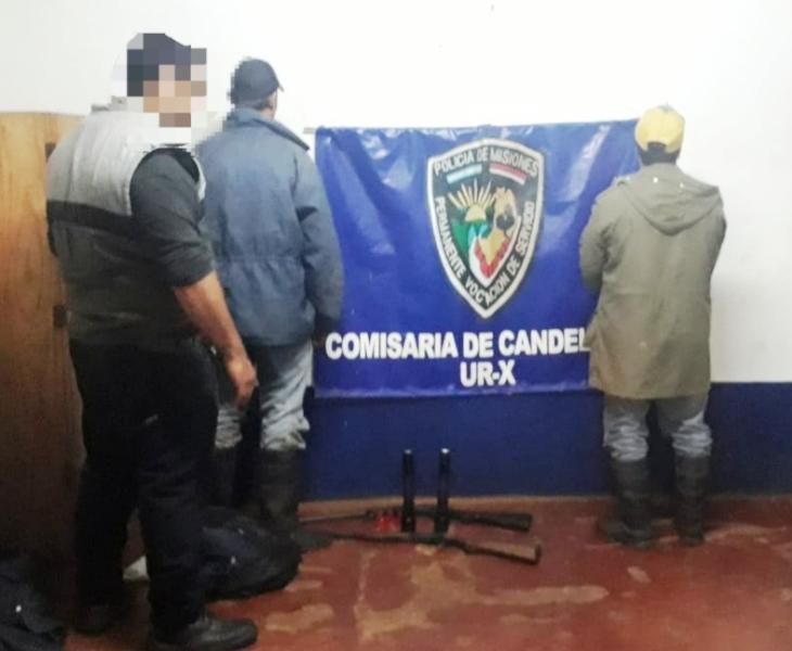 Candelaria: la Policía detuvo a dos hombres armados en la Reserva Natural Urutaú