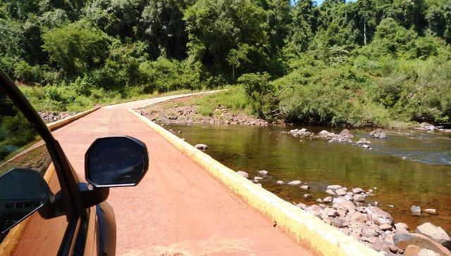 Vialidad Provincial habilitó el tránsito sobre el Puente Yaboti