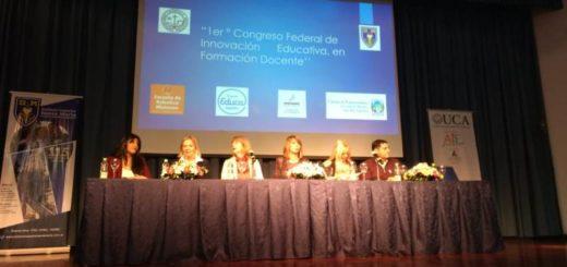 """Congreso Federal de Innovación Educativa: """"Hay que convivir con las herramientas que requiera el siglo XXI"""", señalaron los docentes"""