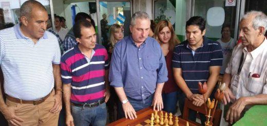 """Passalacqua, en Eldorado: """"Es una iniciativa muy buena generar trabajo a través de la artesanía"""""""