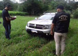 Oberá: la Policía recuperó un automóvil robado y busca intensamente a los autores del hecho