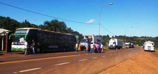 En Misiones Camioneros tendrá dos puntos para asistir a los trabajadores que se adhieran al paro de mañana