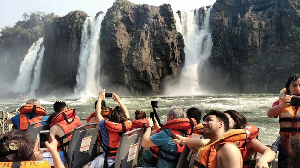 Cataratas cerró este mes con casi 25% más de visitas que mayo 2018