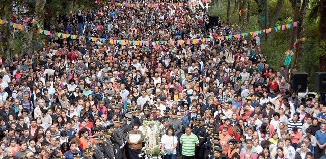 El próximo domingo se realizará la tradicional procesión al Santuario de la Virgen de Fátima en Posadas