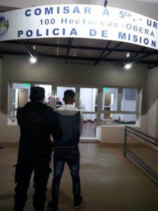 Oberá: tres hombres y una mujer fueron detenidos por ocasionar disturbios