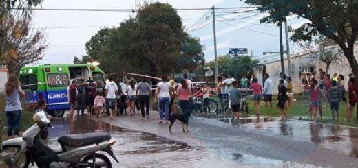 Santa Fe: se inundó un barrio y un nene de cinco años murió ahogado