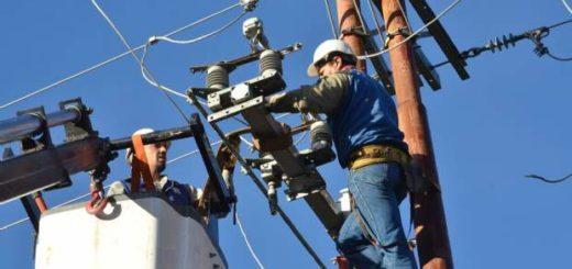 Por tareas de mantenimiento, el domingo habrá cortes de luz en toda la provincia