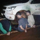 Policías detuvieron a jóvenes cazadores por tenencia ilegal de armas en la Reserva de Biosfera Yabotí