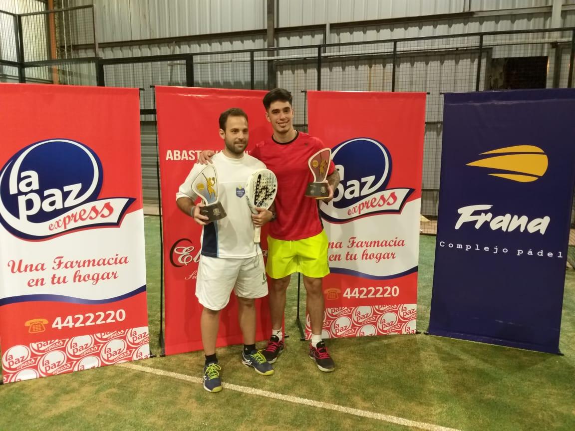 Pádel: la dupla Galarza-Godina gritó campeón en el torneo de gran nivel organizado en Posadas