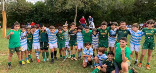 En Tacurú se desarrolló el primer gran encuentro de rugby infantil de 2019