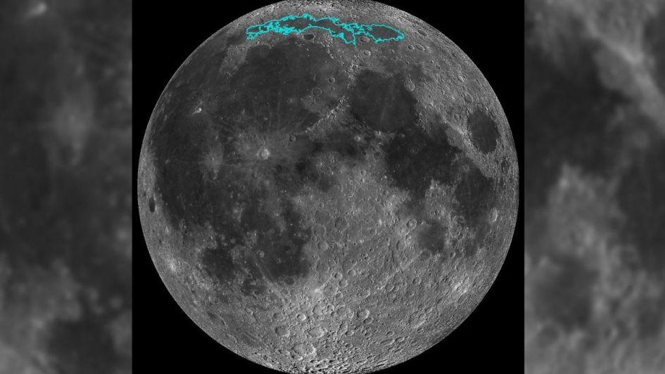 """Según un estudio científico, la Luna se arruga como """"una pasa de uva"""""""