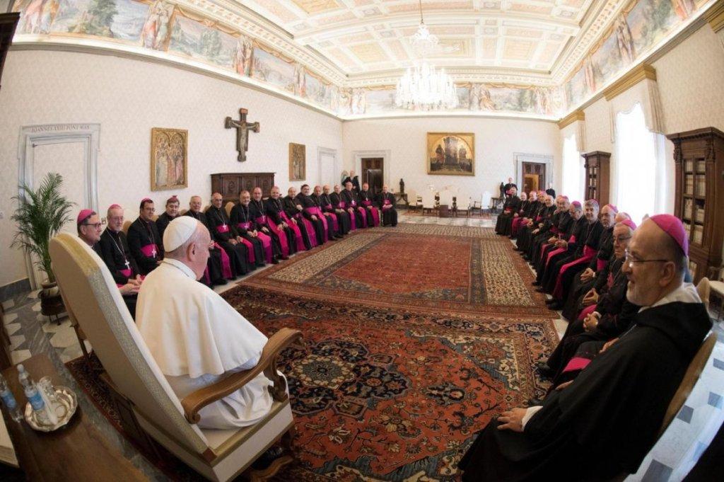 """El obispo de la diócesis de Oberá participó de reuniones con el Papa: «Nos pidió estar cerca de los más necesitados"""""""