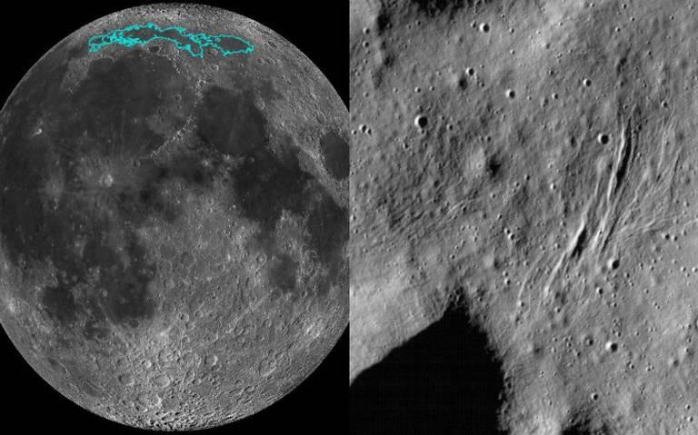 La NASA explica porqué la Luna se está encogiendo como una uva