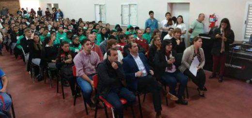 """Oscar Herrera Ahuad en Candelaria: """"Seguimos trabajando en la inclusión de los jóvenes en las políticas públicas"""""""