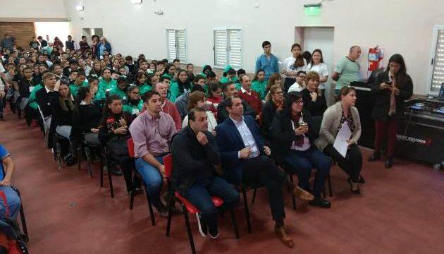 Oscar Herrera Ahuad en Candelaria: «Seguimos trabajando en la inclusión de los jóvenes en las políticas públicas»